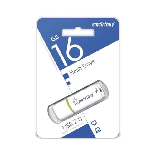 USB 16GB Crown белый SMARTBUY
