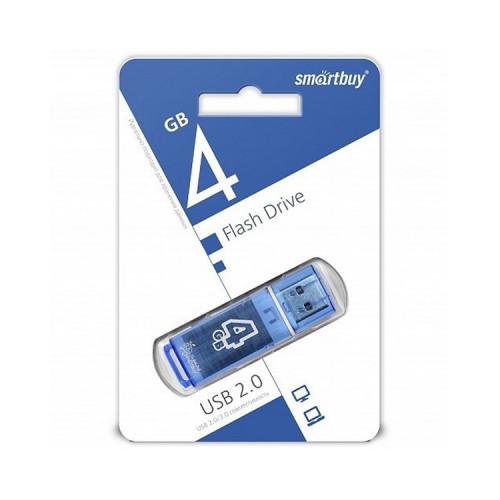 USB 4GB Glossy синий SMARTBUY