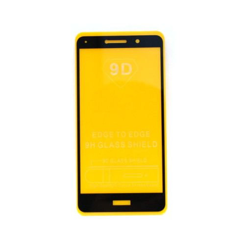 Защитное стекло 3D для Huawei Honor 6X черный (техпак)