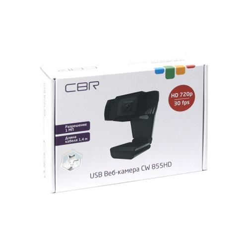 Веб-камера CW 855HD Black (1280х720) 1МП CBR