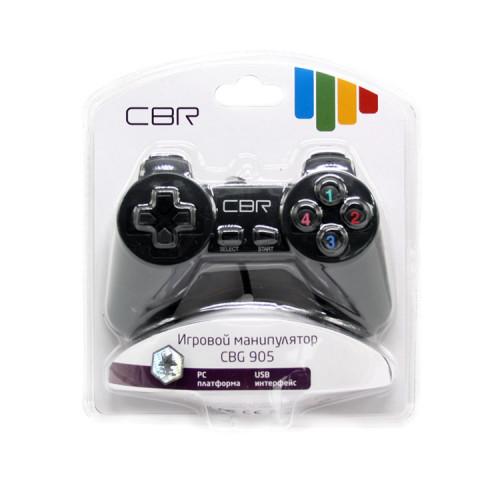 Геймпад для PC CBG-905 проводной черный CBR