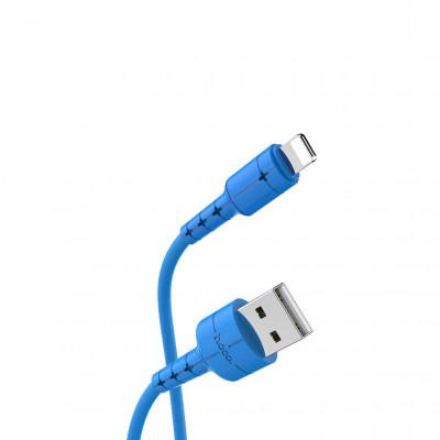 Кабель Lightning X30 1.2M синий HOCO