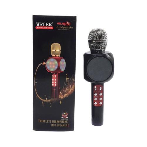 Караоке-микрофон WS-1816 черный WSTR