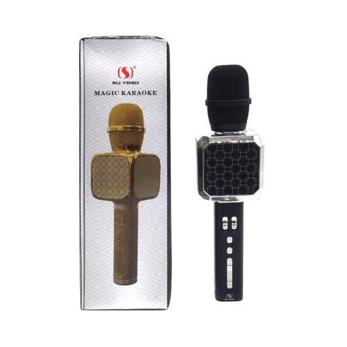 Караоке-микрофон YS-05 черно-серебристый