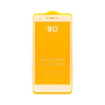 Защитное стекло 3D для Xiaomi Redmi Note 4X белый (техпак)