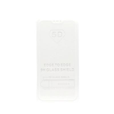 Защитное стекло 3D для Xiaomi Mi A2 Lite/6 Pro белый (техпак)
