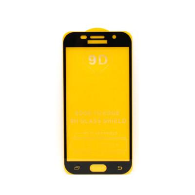 Защитное стекло 3D для Samsung Galaxy A5 2017 черный (техпак)