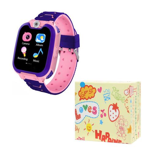 Детские умные часы G2 розовые