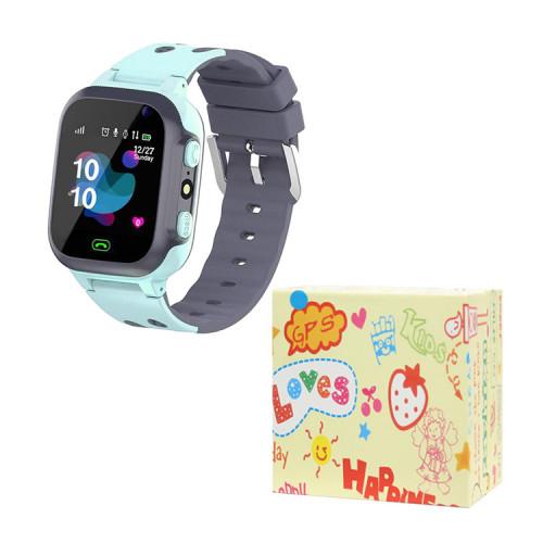 Детские умные часы E07 голубой