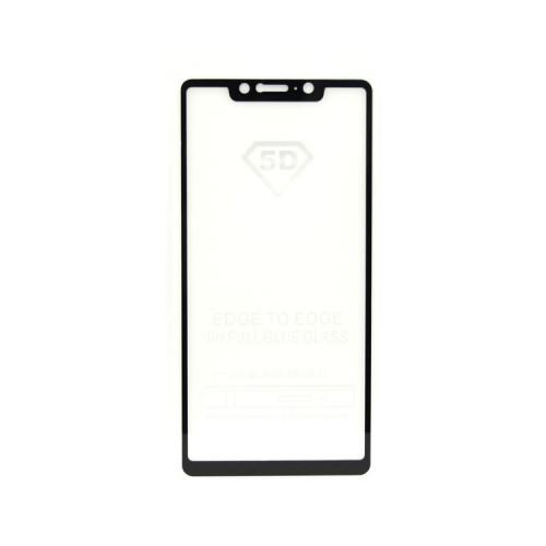 Защитное стекло 3D для Xiaomi Mi 8SE черный (техпак)