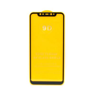 Защитное стекло 3D для Xiaomi Mi 8 / 8 Pro черный (техпак)