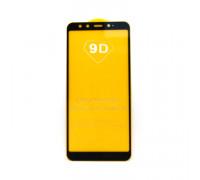 Защитное стекло для Xiaomi Mi A2/6X черный (техпак)