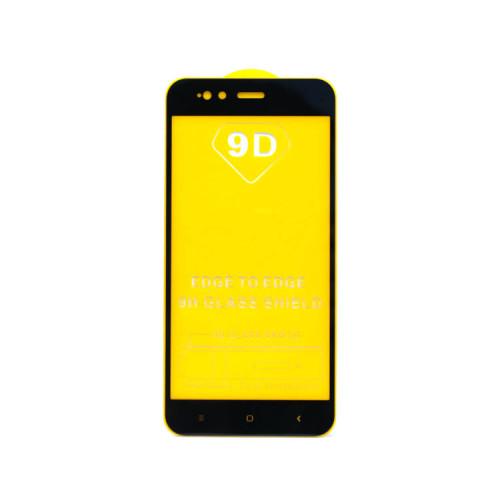 Защитное стекло 3D для Xiaomi Mi A1/5X черный (техпак)