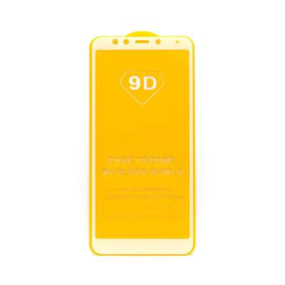 Защитное стекло 3D для Xiaomi Redmi 5 белый (техпак)