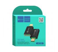 Адаптер OTG AC08 Type-C - USB черный DREAM