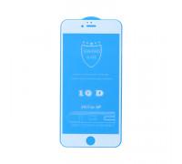 Защитное стекло 3D для Apple iPhone 6+/6S+ белый (техпак)