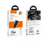 АЗУ 1USB Z32A 18W QC3.0 черный HOCO