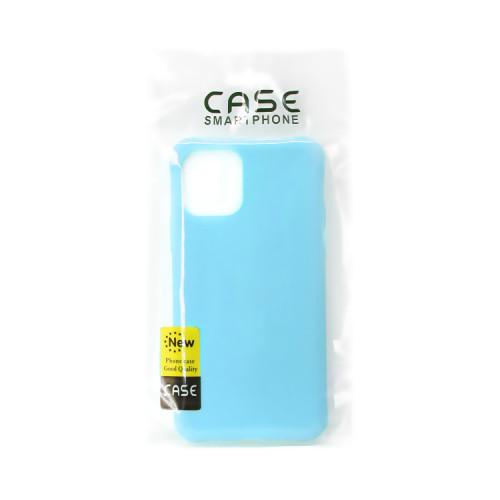 Накладка для Apple iPhone 11 Pro Soft Touch голубой