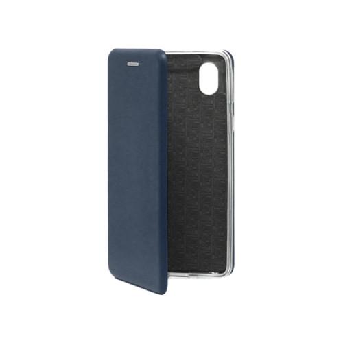 Чехол-книжка для Samsung Galaxy A01 Core темно-синий