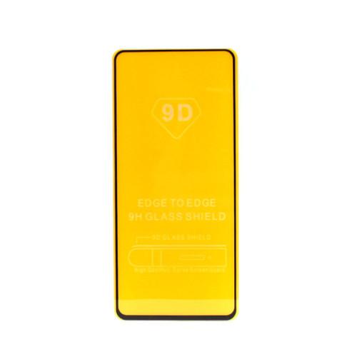 Защитное стекло 3D для Samsung Galaxy A21/A21s черный (техпак)