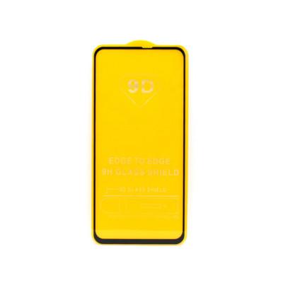 Защитное стекло 3D для Samsung Galaxy A60 черный (техпак)
