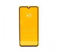 Защитное стекло 3D для Samsung Galaxy A01/A40 черный (техпак)