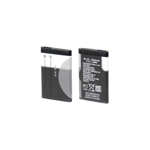 АКБ BL-5C 1020 mAh (без упаковки)