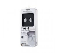 Беспроводные наушники TWS-8 белый REMAX