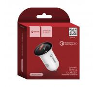 АЗУ USB SM03 2.4A QC3.0 бело-черный DREAM