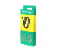 Фитнес-браслет M5 (цветной дисплей) черный