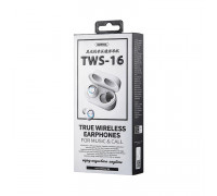 Беспроводные наушники TWS-16 белый REMAX
