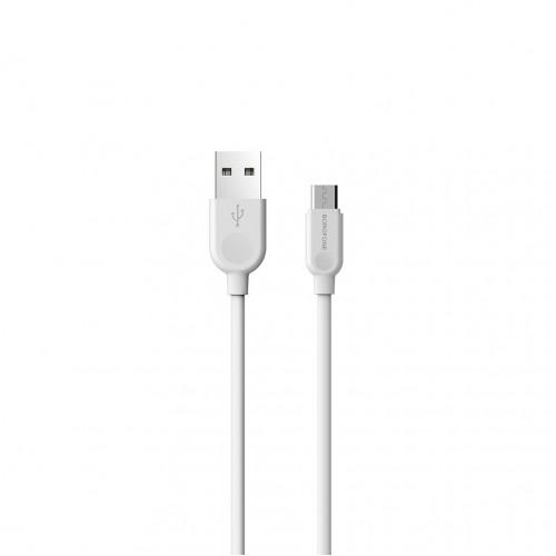 Кабель Micro USB BX14 3M белый BOROFONE