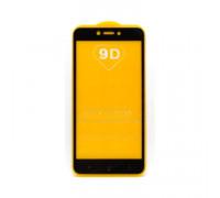 Защитное стекло 3D для Xiaomi Redmi 4X/5A/Go черный (техпак)