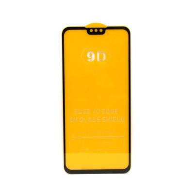 Защитное стекло 3D для Huawei Y9 2019 черный (техпак)