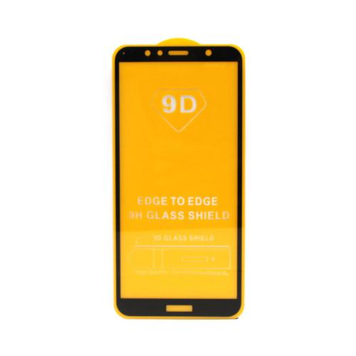 Защитное стекло 3D для Huawei Honor 7A Pro/Y6 2018 черный (техпак)