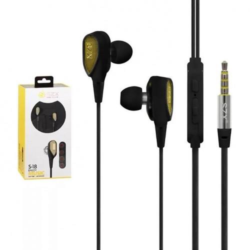 Наушники с микрофоном S-18 SZX