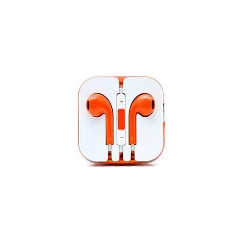 Наушники с микрофоном E-Pods оранжевый
