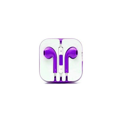 Наушники с микрофоном E-Pods фиолетовый