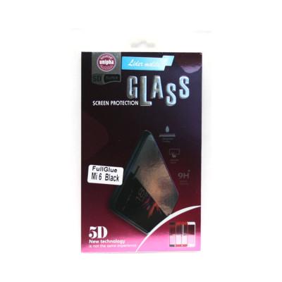 Защитное стекло 3D для Xiaomi Mi6 черный