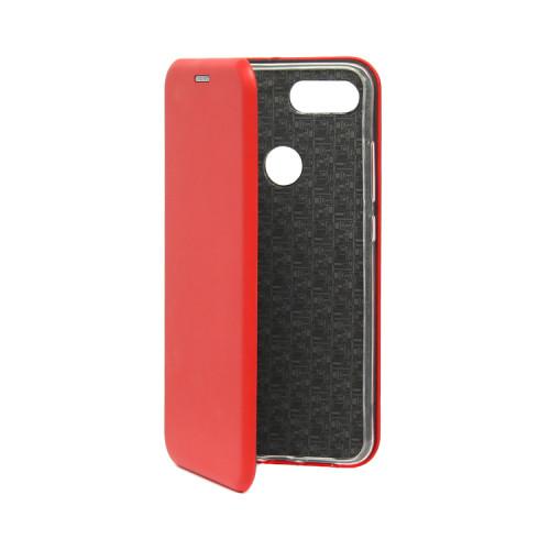 Чехол-книжка для Xiaomi Mi 8 Lite красный
