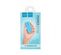 Внешний аккумулятор B21 5200mAh голубой HOCO