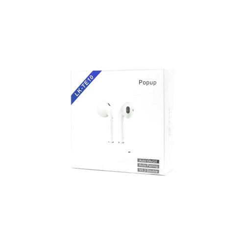 Беспроводные наушники LK-TE10 белый Popup
