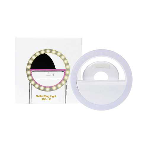 Кольцевая лампа для селфи RK-12 (8 см)