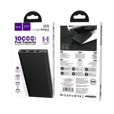 Внешний аккумулятор J55 10000mAh черный HOCO