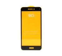 Защитное стекло 3D для Huawei Honor 8/P10 Lite черный (техпак)