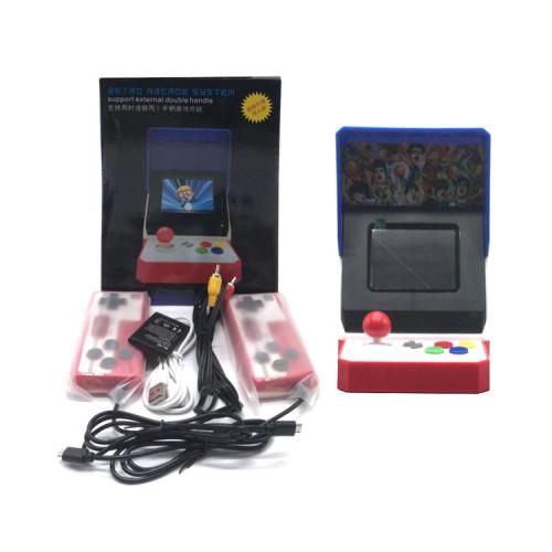 Игровая приставка RETRO ARCADE 520 (2 джойстика) красно-синий