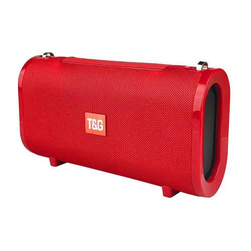 Портативная колонка TG-123 красный T&G