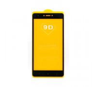 Защитное стекло 3D для Xiaomi Redmi Note 4X черный (техпак)