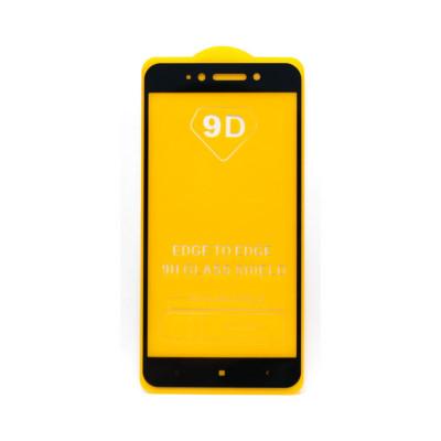 Защитное стекло 3D для Xiaomi Redmi Note 5A черный (техпак)