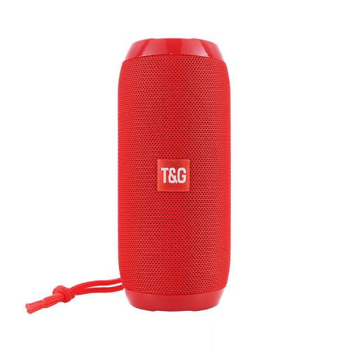 Портативная колонка TG-117 красный T&G